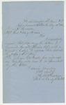 1863-08-21  Lt. Colonel Augustus B. Farnham to Adjutant General Hodsdon