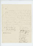 Undated - F. Harmon and citizens of Belfast recommend Sergeant John Knowles for promotion