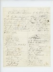 Undated - Edwin H. Vose and citizens of Calais recommend George J. Brewer for promotion
