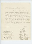 Undated - Washington Long and citizens of Eastport recommend George J. Brewer for appointment as lieutenant