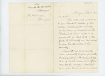 1862-07-14  Hannibal Hamlin recommends Frank W. Webster for a commission