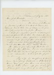 1862-07-14  S.A. Barker recommends J.F. Knowles of Jackson for a commission