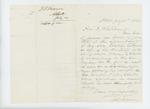 1862-07-30 J.S. Monroe requests a lieutenant's commission for his son Erastus T. Monroe by J. S. Monroe
