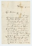 1862-09-09  R.M. Roberts requests a commission for his nephew Cassius C. Roberts