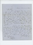 1862-11-08  Joseph Granger reports on complaints of irregularities of bounty payments, and recommends George J. Brewer for lieutenant
