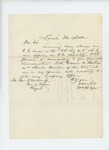 1862-12-17 W.R. Ayer recommends Warren A. Huntress for promotion to lieutenant by W. R. Ayer