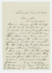 1862-12-18  Timothy Fuller recommends W.A. Huntress and Charles Merrill for commissions