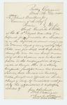 1862-12-30  Lieutenant William R. Pattangall recommends Sergeant Gershom C. Bibber of Company K. 18th Maine Regiment, for promotion