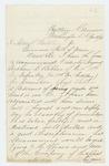 1863-01-01  Lieutenant Stephen C. Talbot recommends Gershom C. Bibber for promotion