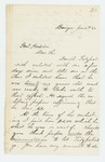 1863-01-04  Henry W. Farrar requests punishment of Daniel Fitzpatrick for lying about his age
