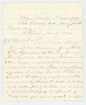1863-01-09  Colonel Daniel Chaplin recommends promotions of Joseph W. Chamberlain, Charles Dwinal, and others