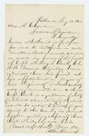 1863-01-12   Allen Haines recommends promotion of Captain Whiting S. Clark
