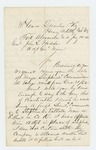 1863-01-14  Colonel Daniel Chaplin confirms date of Major Shepherd's commission and recommends promotions