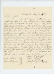 1863-01-14  Joseph Gunnison recommends his friend George W. Sabine for promotion to Major