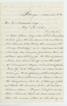 1863-03-25  A. Drummond recommends his son Thomas for promotion
