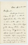 1863-04-28  Israel Washburn recommends Captain Atwell for promotion