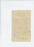 1863-05-13  C.R. McFadden recommends Captain W.S Clark for promotion