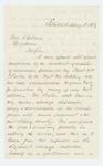 1863-05-18  Eugene Hale recommends William Parker for promotion