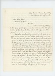 1863-05-19  Lieutenant Colonel Thomas H. Talbot recommends promotion of Captain George W. Sabine