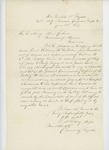 1863-06-23  Major P. McGilvery of the Mounted Artillery recommends Lieutenant William H. Gallison for a position in the 1st Maine Heavy Artillery