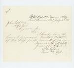 1863-07-02  Lieutenant and Adjutant S.C. Talbot forwards June 1863 monthly return