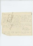 1863-07-07  Frederick E. Shaw requests the enlisting papers of George Lander, whom he accuses of fraud