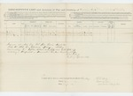 1863-7-16  Descriptive list of deserters Benjamin Snow and Edward Avery from the 18th Maine Regiment / 1st Maine Heavy Artillery