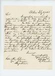 1863-07-27  George P. Sewall of Old Town recommends George Oakes for promotion