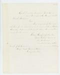 1863-08-19  Lieutenant Thomas Palmer sends bounty request