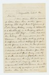 1863-09-08  W.G. Sargent recommends Sergeant Spooner for promotion