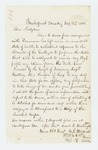 1863-10-20  Lieutenant E.S. Wardwell requests transfer to other duties or Invalid Corps due to illness
