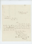 1863-11-03  Captain George Sabine sends the returns for Company K