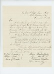 1863-11-13  Colonel Chaplin recommends promotions of William Pattengall, Stephen Talbot, and Gershom Bibber