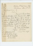 1863-12-17  Special Order 28 appointing Captain E.R. Mayo as regimental recruiting officer in charge of re-enlisting veteran volunteers
