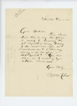 1863-12-30  Barnabas M. Roberts inquires if any line officers will be created