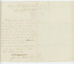 1864-01-01  John E. Hathorn inquires what town he was assigned to when enlisted for purposes of bounty