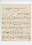 1864-01-11  Joshua Watson and other Selectment of Sedgwick request promotion of Sergeant H. Spooner