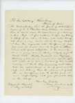 1864-01-11  Dr. Sidney Drinkwater recommends Mr. Spooner for promotion
