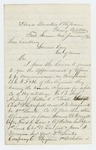 1864-01-13  Colonel Chaplin recommends promotions and Governor Samuel Cony concurs