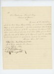 1864-01-14  Provost Marshal Elijah Low and other officers oppose Captain Crossman's promotion to Major