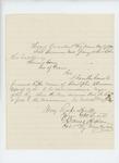 1864-01-18  Colonel Chaplin recommends Captain Crossman for Major
