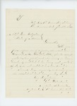1864-01-18  Milton S. Beckwith inquires about enlistment and quota