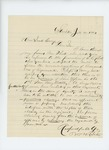 1864-01-20  Barnabas M. Roberts writes Governor Cony regarding increase in line officers