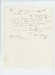 1864-01-21  General Hodsdon writes Governor Cony that Captain Crossman is not the ranking officer
