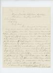 1864-01-25  Colonel Chaplin writes Governor Cony regarding promotion of Captain Crossman