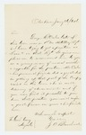 1864-01-26  J.A. Blanchard recommends George Oakes for commission