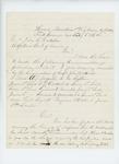 1864-02-03  Colonel Daniel Chaplin writes regarding recommendations for promotion