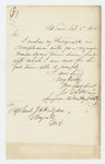 1864-02-05  Dr. Jerome B. Elkins sends his photograph per request of the Adjutant General