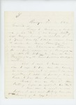 1864-02-08  C.P. Brown writes regarding Alonzo Ricker's bounty payment