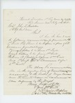 1864-02-11  Colonel Chaplin makes recommendation for promotions of Shaw, Sellers, Rollins, Bickford, and Drummond